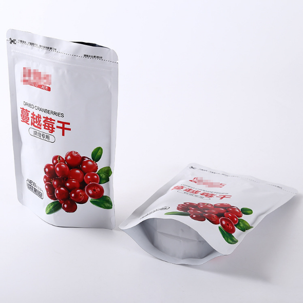Custom printed high quality reusable Healthy snack cashew nuts packaging bags factory in china