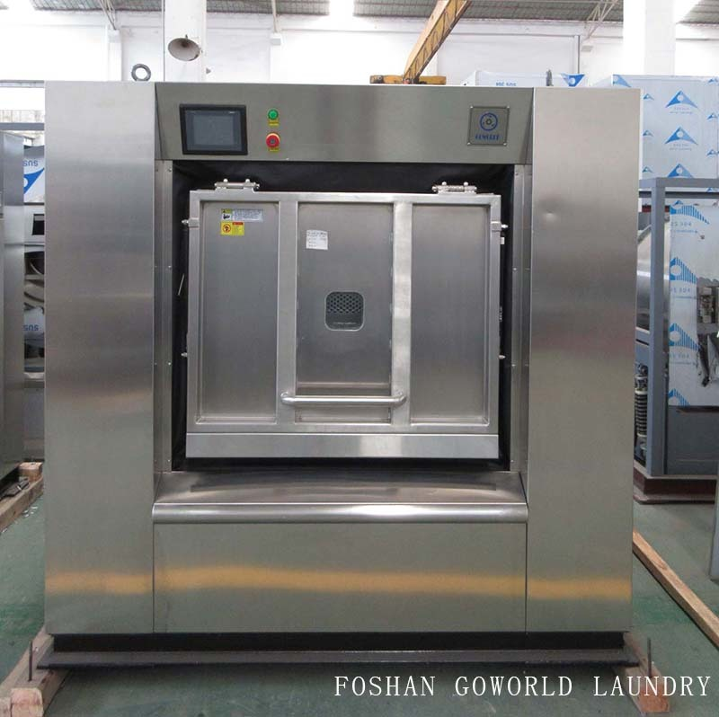 Barrier washer extractor for hospital