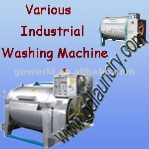 various stainless steel industrial washing machine