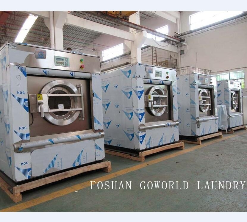 25kg electric heating industrial washing machine