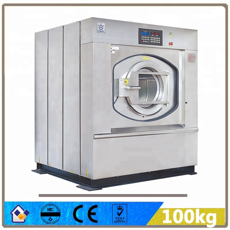 100kg industrial laundry machine-Washer,dryer,flatwork ironer,presser,folder