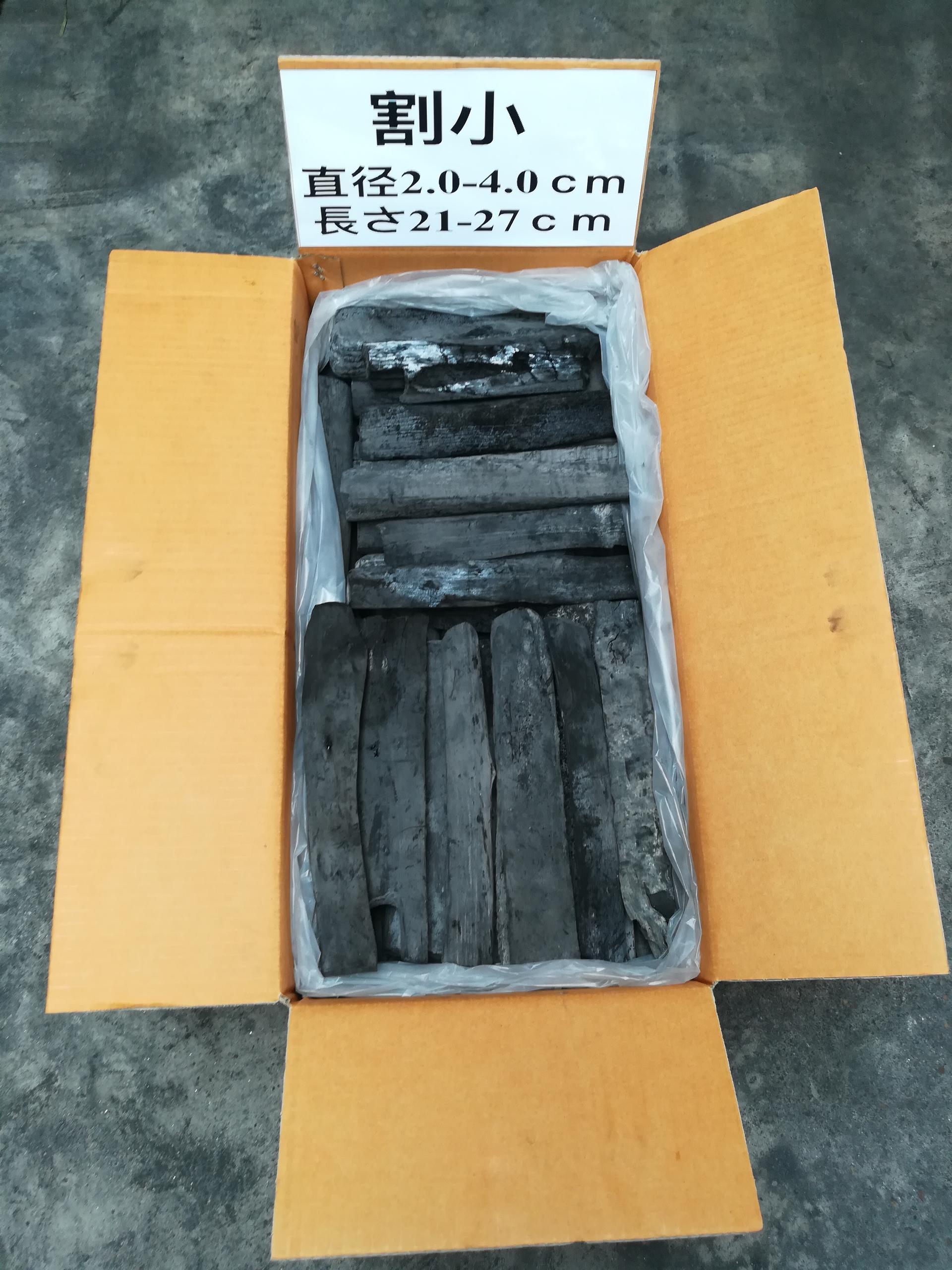 White Binchotan Barbecue Nature Wood Charcoal made in Laos