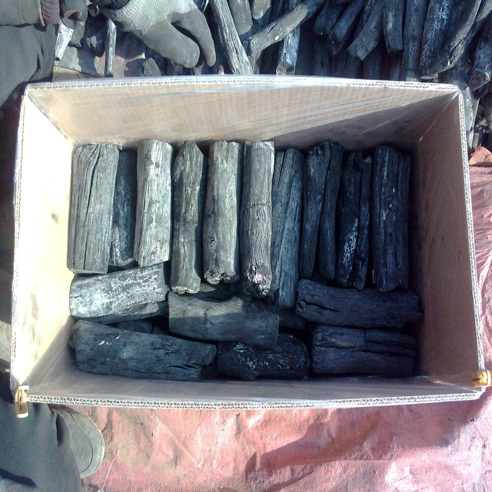 Laos Matiew White Charcoal Japan Korea BBQ Nature Wood Binchotan Charcoal