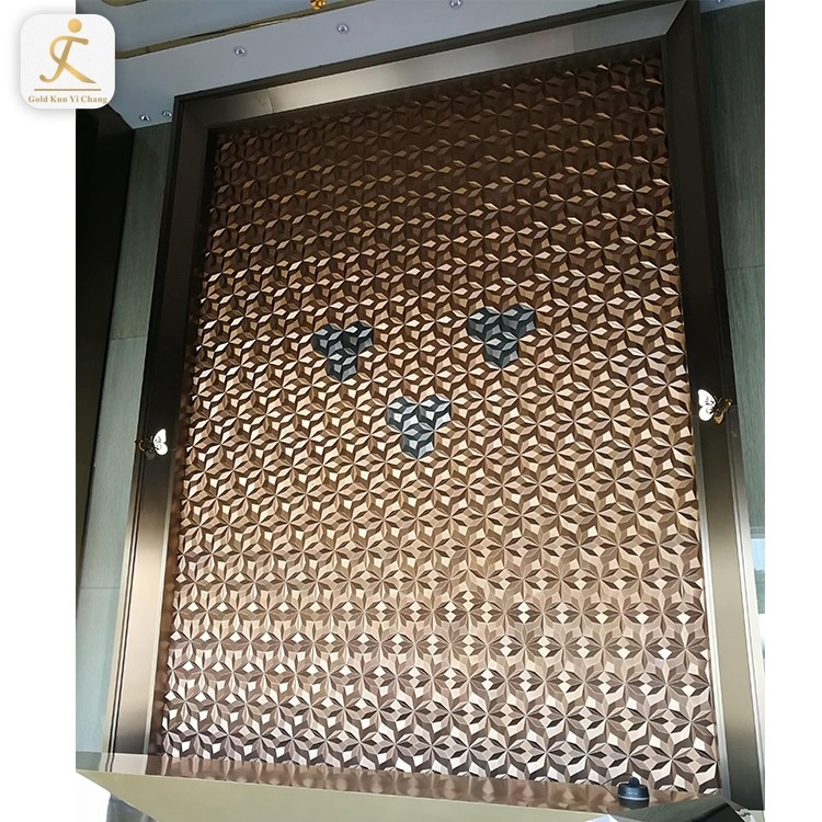 brushed silver coloured stainless steel laser cut steel sheet 201 304 316 430 ss custom decorative pattern steel plate