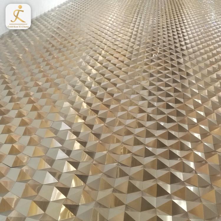 Thin Decorative Design Metal Steel Sheets Bronze 4X8 Super Laser Cutting Stainless Steel Metal Sheet