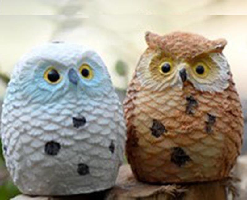 Cheap Price Best Selling Handcraft Miniature resin Owl Decoration Figurines
