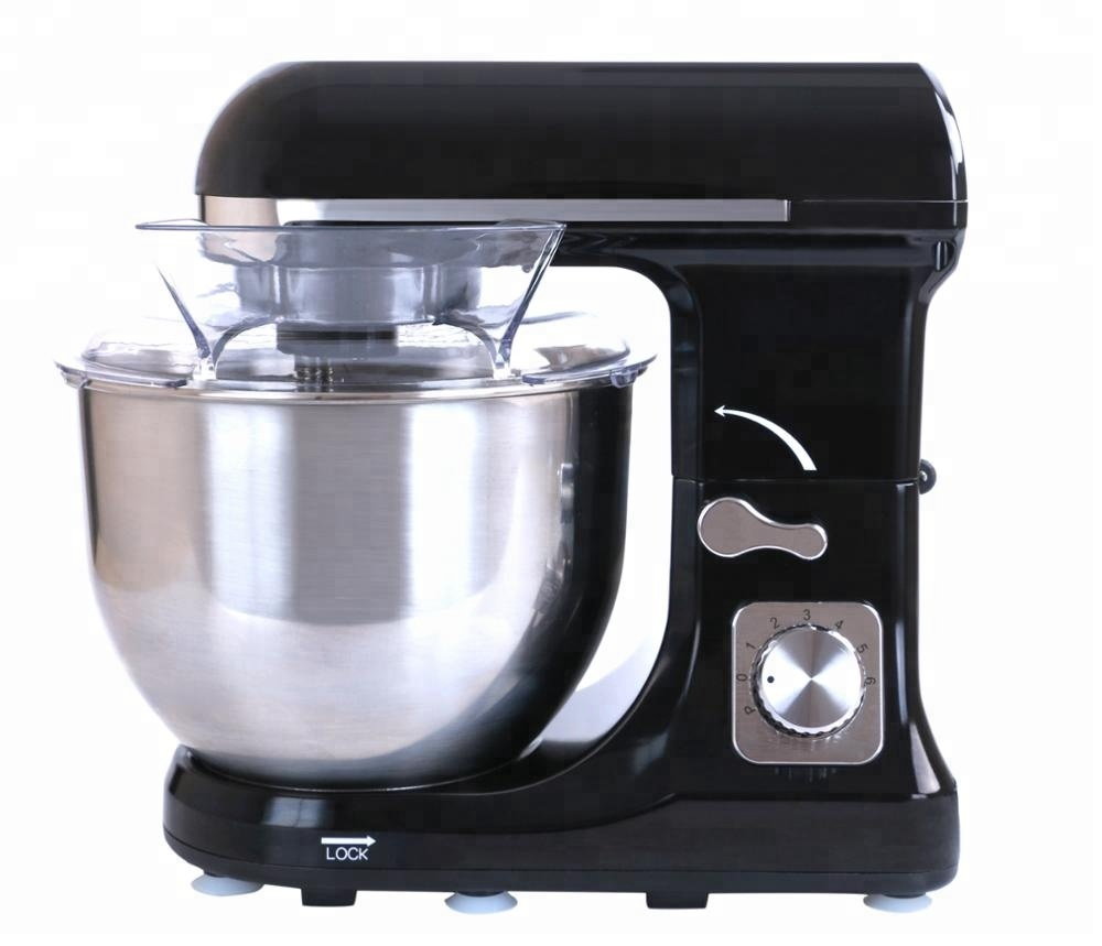Electric Compact Stand Mixer with 5L Glass Bowl