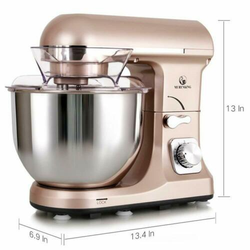 Multifunction Dough Mixer with 5L Glass Bowl