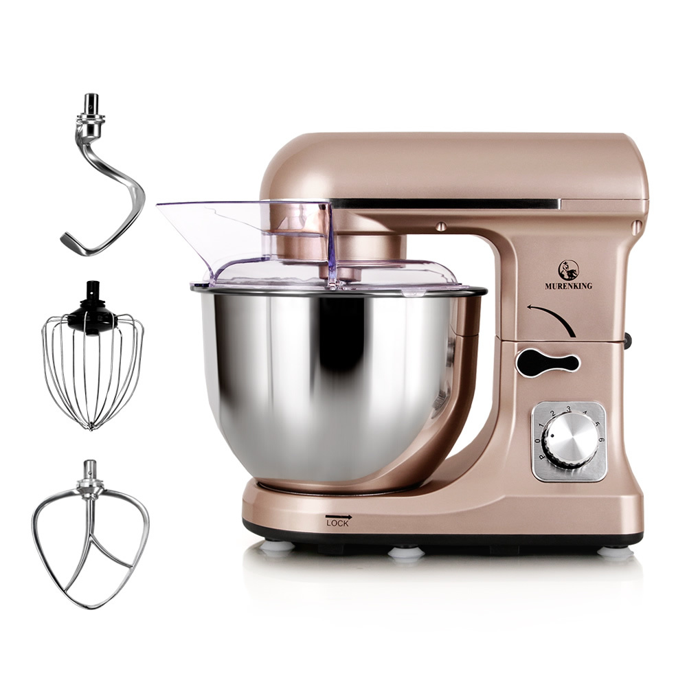 Home kitchen appliance Stand Mixer with 5L rotating bowl