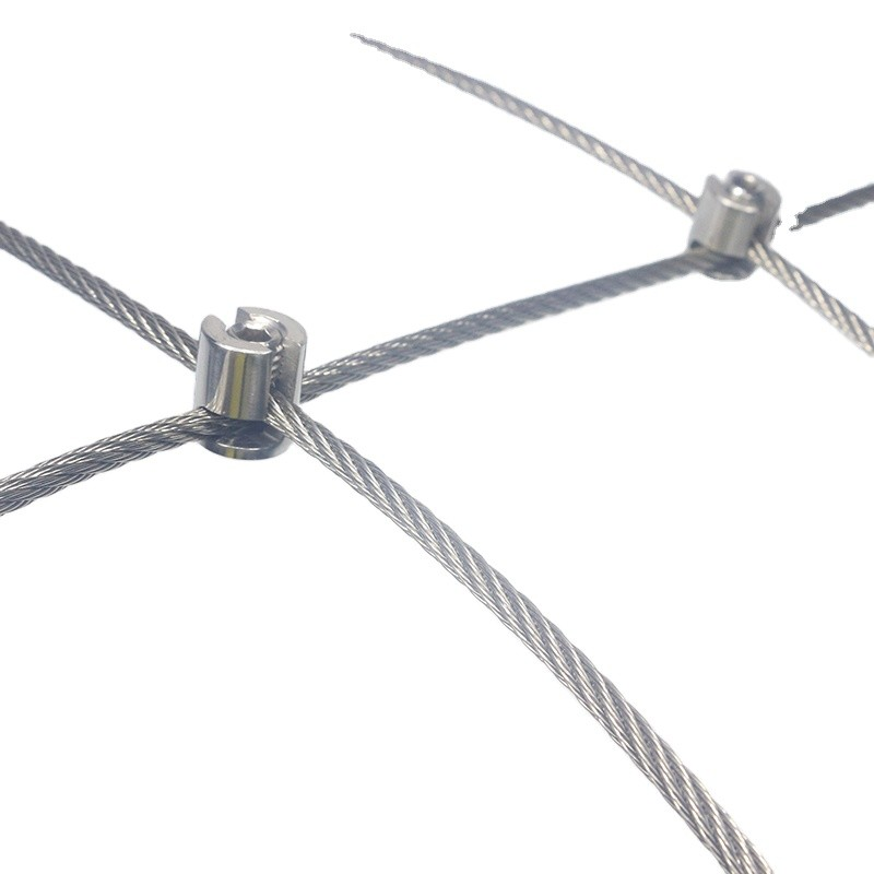 Stainless Steel Wire Rope Support Kit Wall Trellis for Climbing Plants