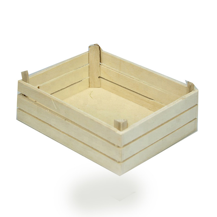 Simple useful Art minds vintage customized wood crate for flowers