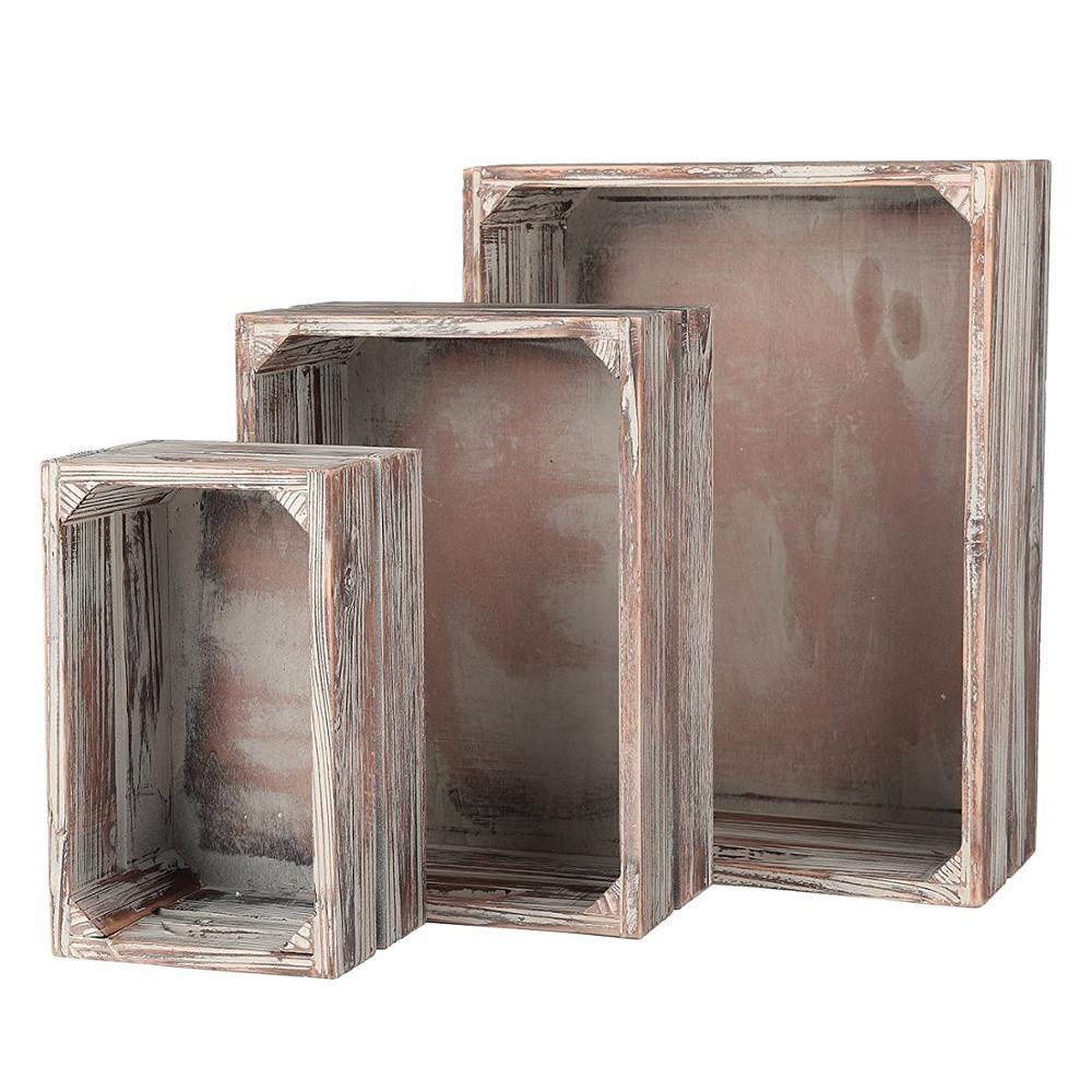 Wholesale handicraft inexpensive wooden crates wholesale
