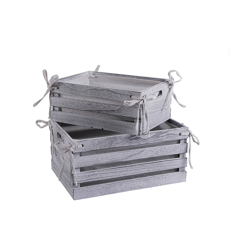 Cheap vintage useful handmade rustic wooden wine crate for sale