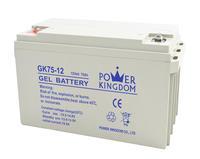 12V 75AH gel rechargeablebattery sealed lead acid battery for solar system MF