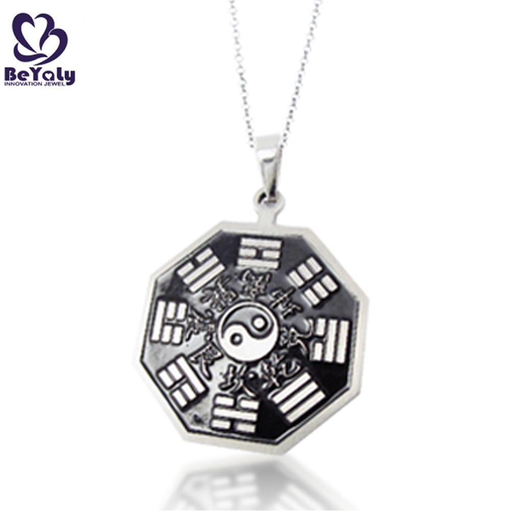 Cool Yin Yang locket religious stainless steel pendant