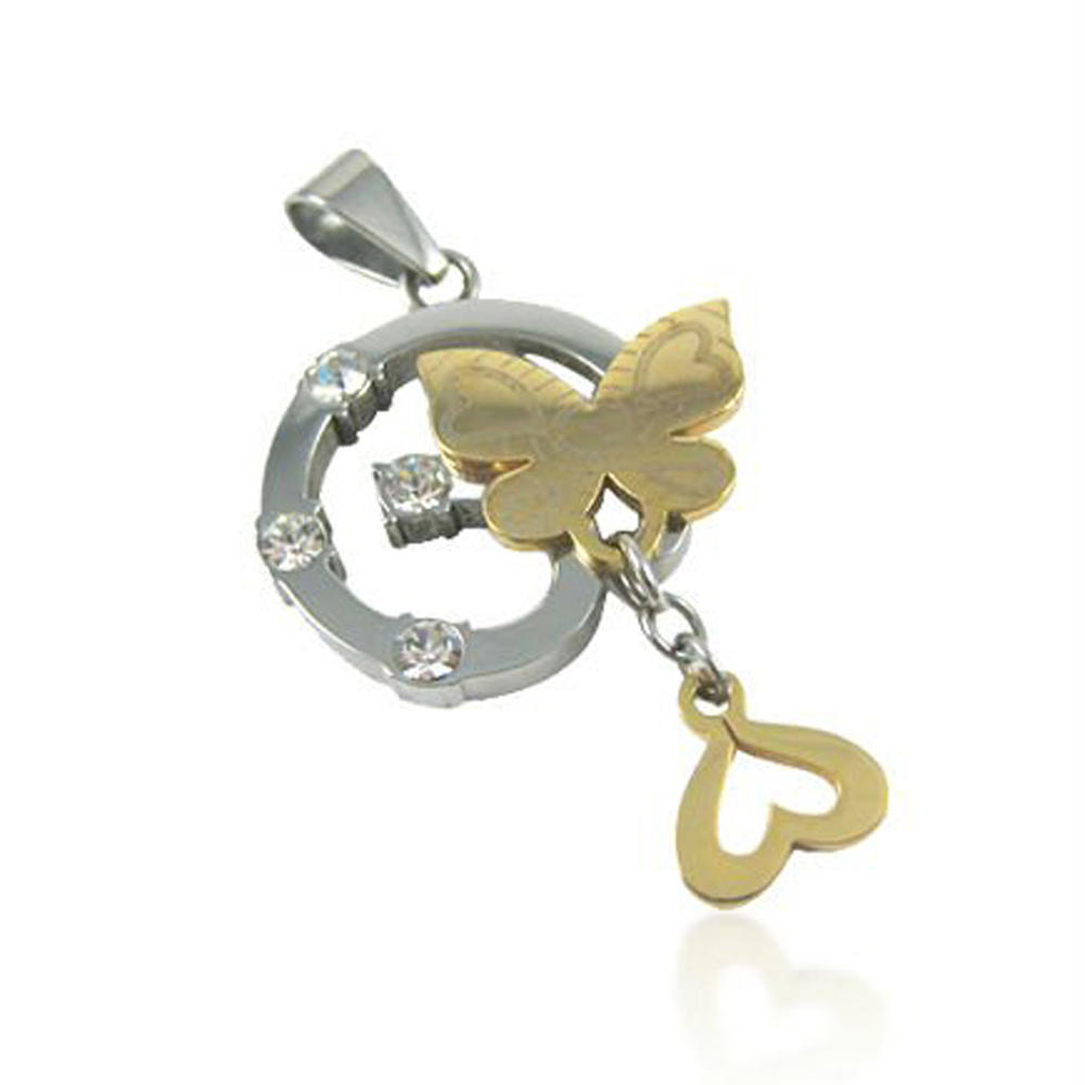 Fashion stainless steel custom design engraved kenya jewelry
