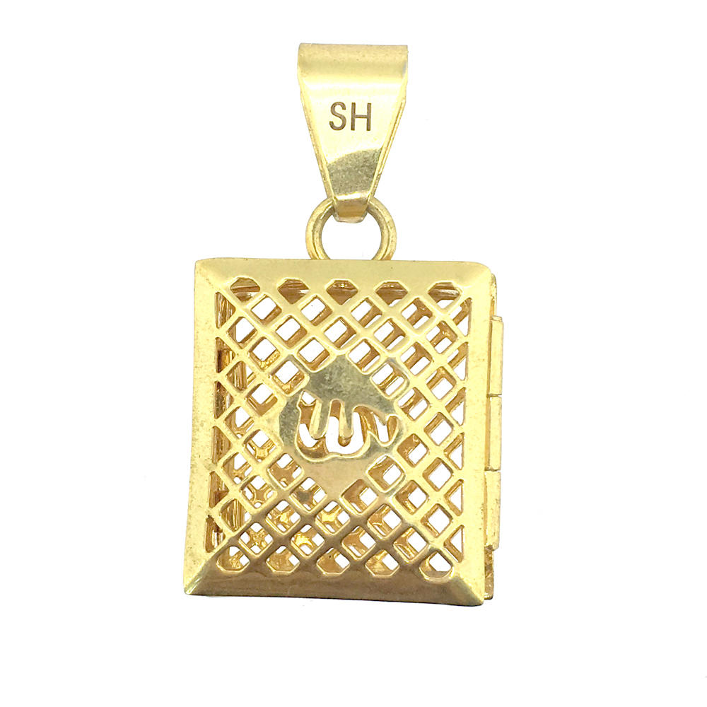 Top Quality Fashion Jewelry 316L Stainless Steel Locket Pendant