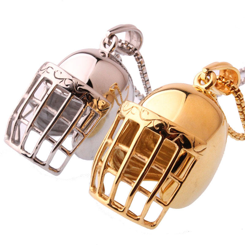 Beyaly wholesale sport group stainless steel baseball pendant charm necklace