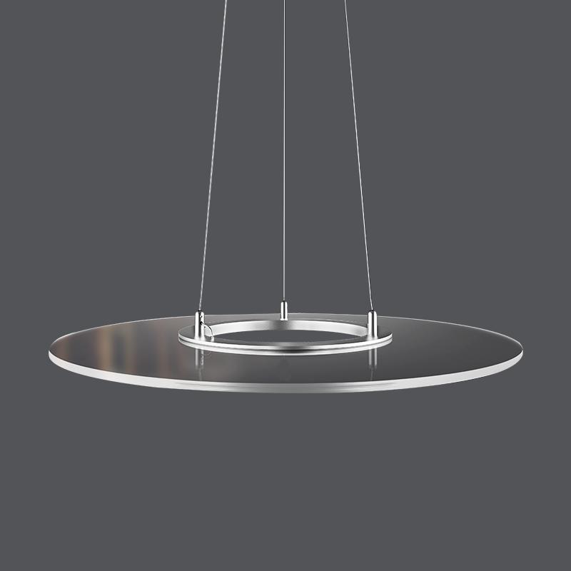 2020 new led clear ring panel Lighting hot sell 36w Round Ring led frameless panel light