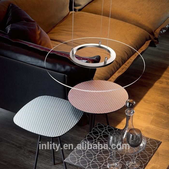 2017 New Design of 36 W Panel Pendant Light For Dining Room