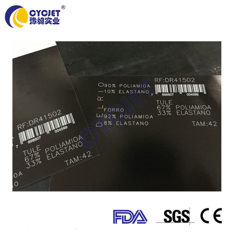 CYCJET Paper Box Package Batch Coding Fly Laser Printing by Chinese Supplier
