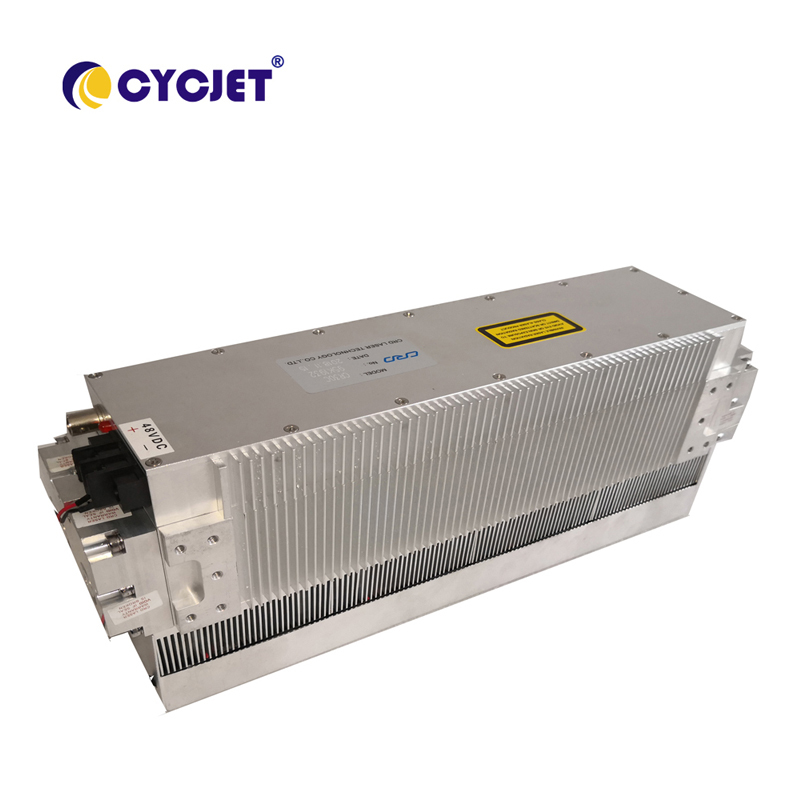 CYCJET CO2 Fly Laser Marking Machine For Paper Card