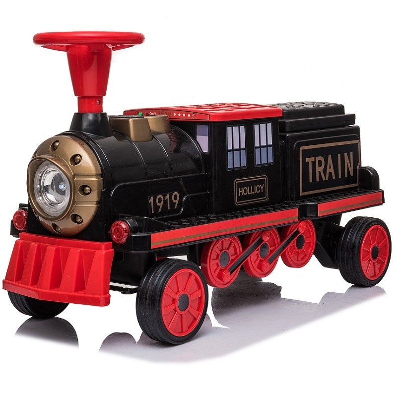 Newest 1919 kids cars electric ride on train toy 12v