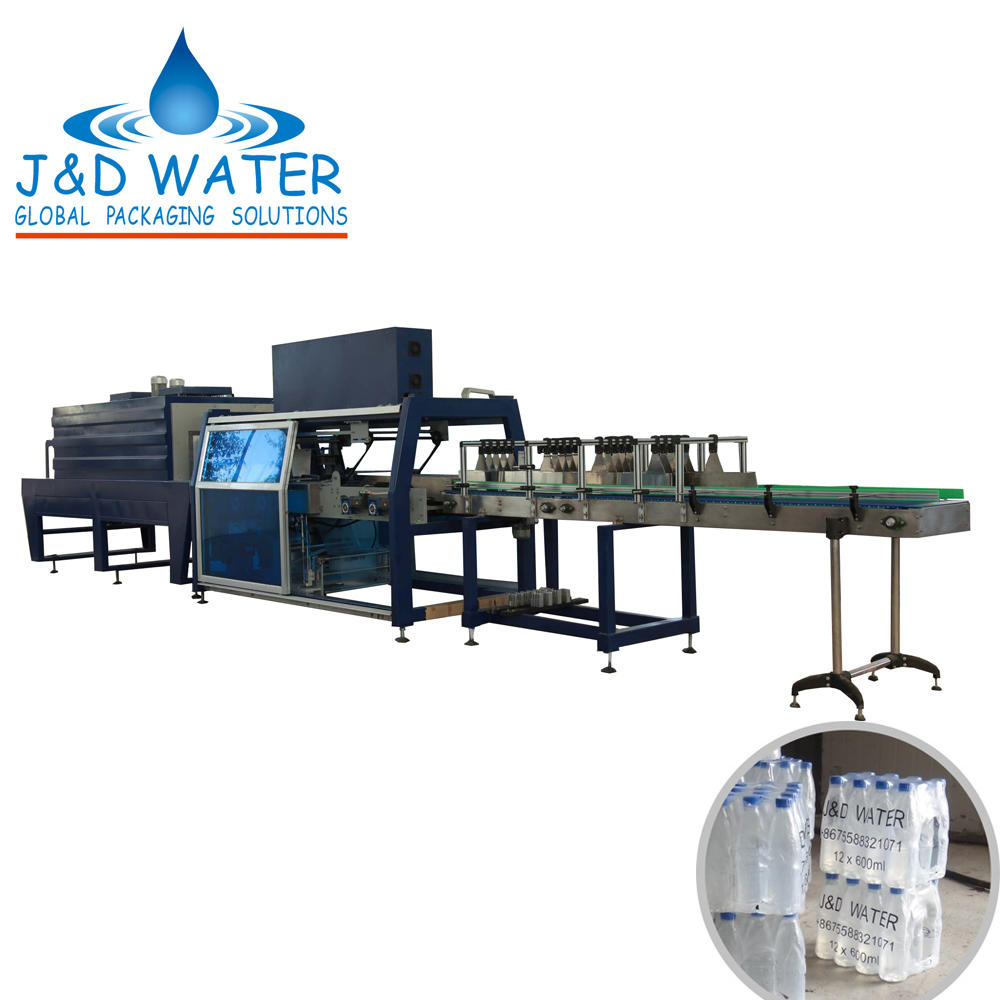 Hot sale high quality food beverage shrink wrapping machine
