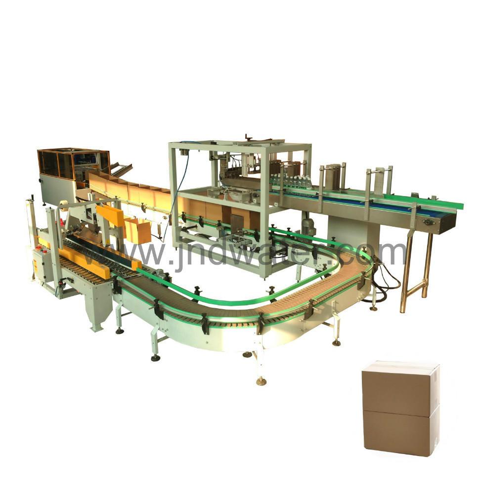 Carton Erecting & Carting &Sealing Machine