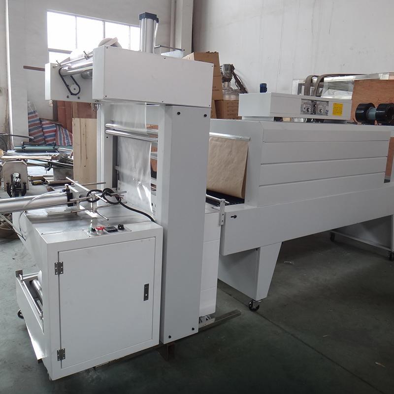 High Quality Bottle Semi Auto Shrink Wrap Machine Heat Shrink Tunnel Machine