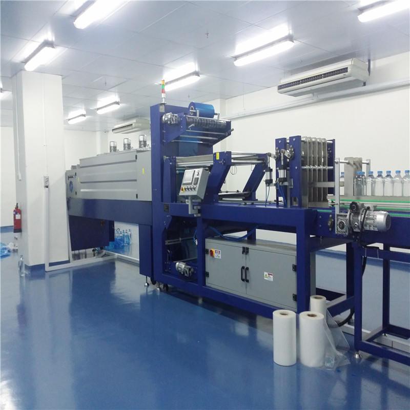 Factory price PET beverage bottle shrink wrap machine
