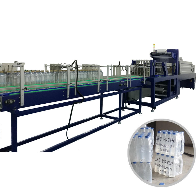 Multi function shrink mineral water filling bottle packing machine
