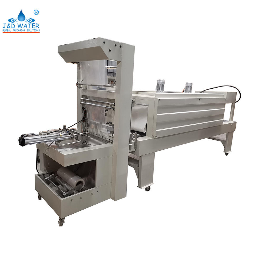 Semi Automatic bottle Pe Film Sealing shrink wrapping Packing machine