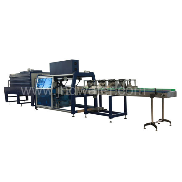 Automatic CE PET Bottle Shrink Wrapping Machine