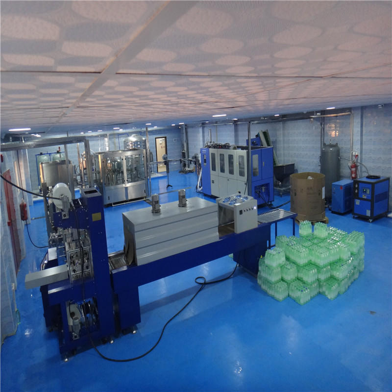 Automatic Plastic Film Stretch Shrink Wrapping Packing Machinelabeler for Bottle