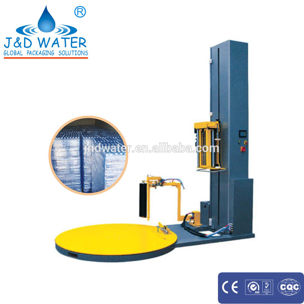 Automatic Electric 1.5kw Pre-stretch Pallet Wrapper for Beverage
