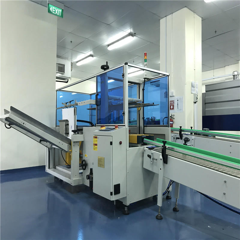 JND-15A AC 380V 50HZ carton erecting and carton sealing machine