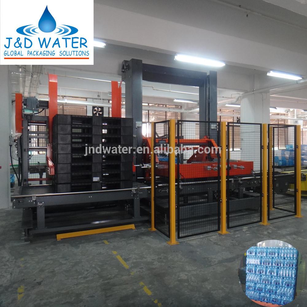 Voltage 380V Bottle Palletizer machine System