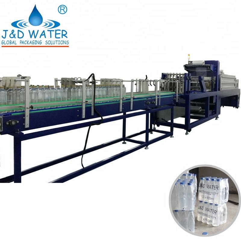 A year free serive Automatic wrap round bottle carton packing machine for carton box