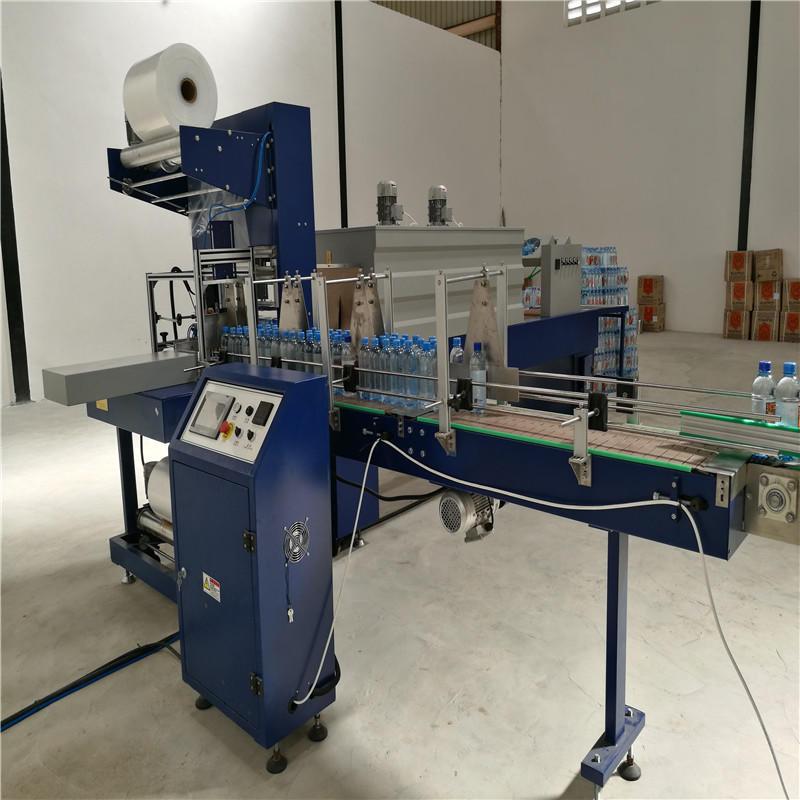 China automatic pet bottle bubble wrap making machine