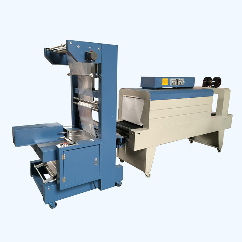 Voltage AC220 / 380V accurate control semi-automatic shrink wrap packaging machine