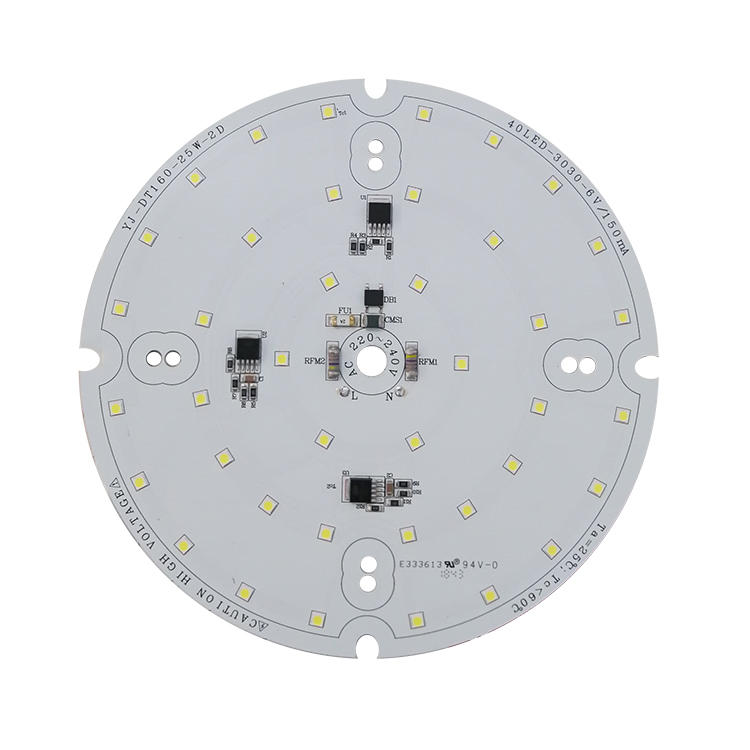 High voltage 130 lm/W ac dc driverless power led module for explosion-proof lights