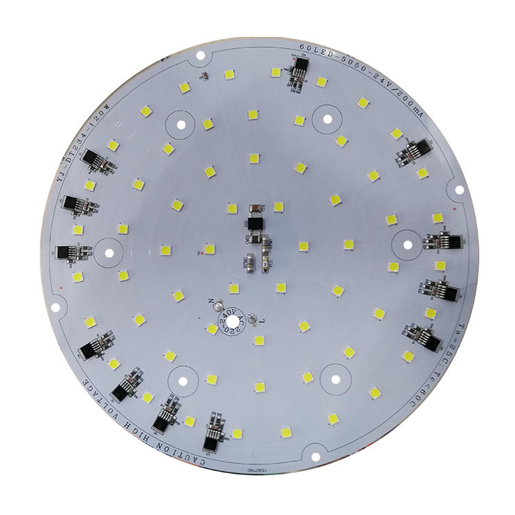 High power 125 lm/W 2835 120W white pcb board aluminum ac linear no driver led module for explosion-proof lights