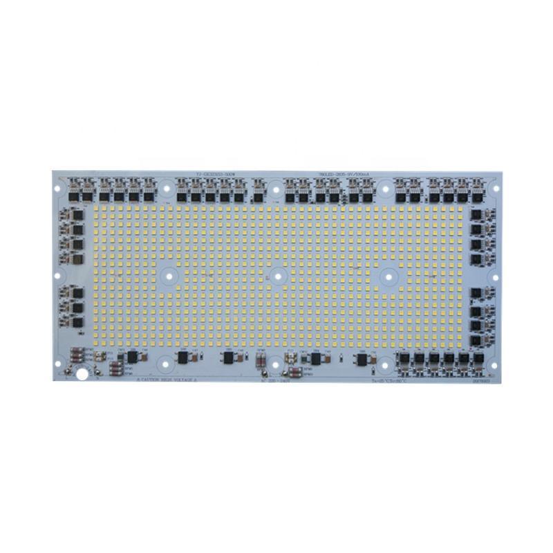 High power 500W 100lm/W Ra 80 ac220V input DOB driverless led module pcb pcba for LED Explosion-proof Light
