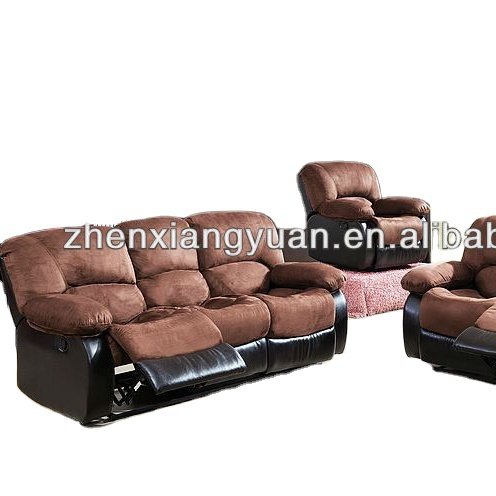 Living room products Brush Microfiber Recliner Sofa