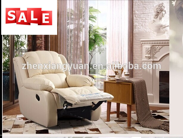 Living room furniture Lazy boy glider rocking sofa Suede leather recliner chairs 3648