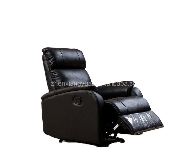 Modern Living roomchairs Recliner Lazy boy Chair Reclining Furniture for big sale black color