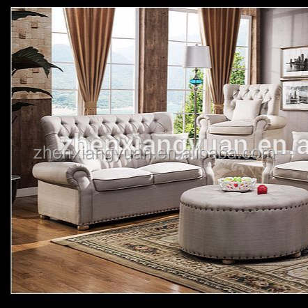 2019New furniture Sofa Classic elegant Victorian style sofa,luxury factory sofa sets hot sale