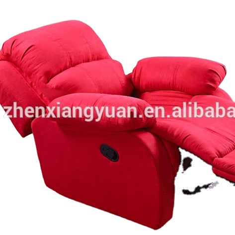2021 furnitureLiving room comfort Reclining suede fabric Chair with 360 Degree Swivel