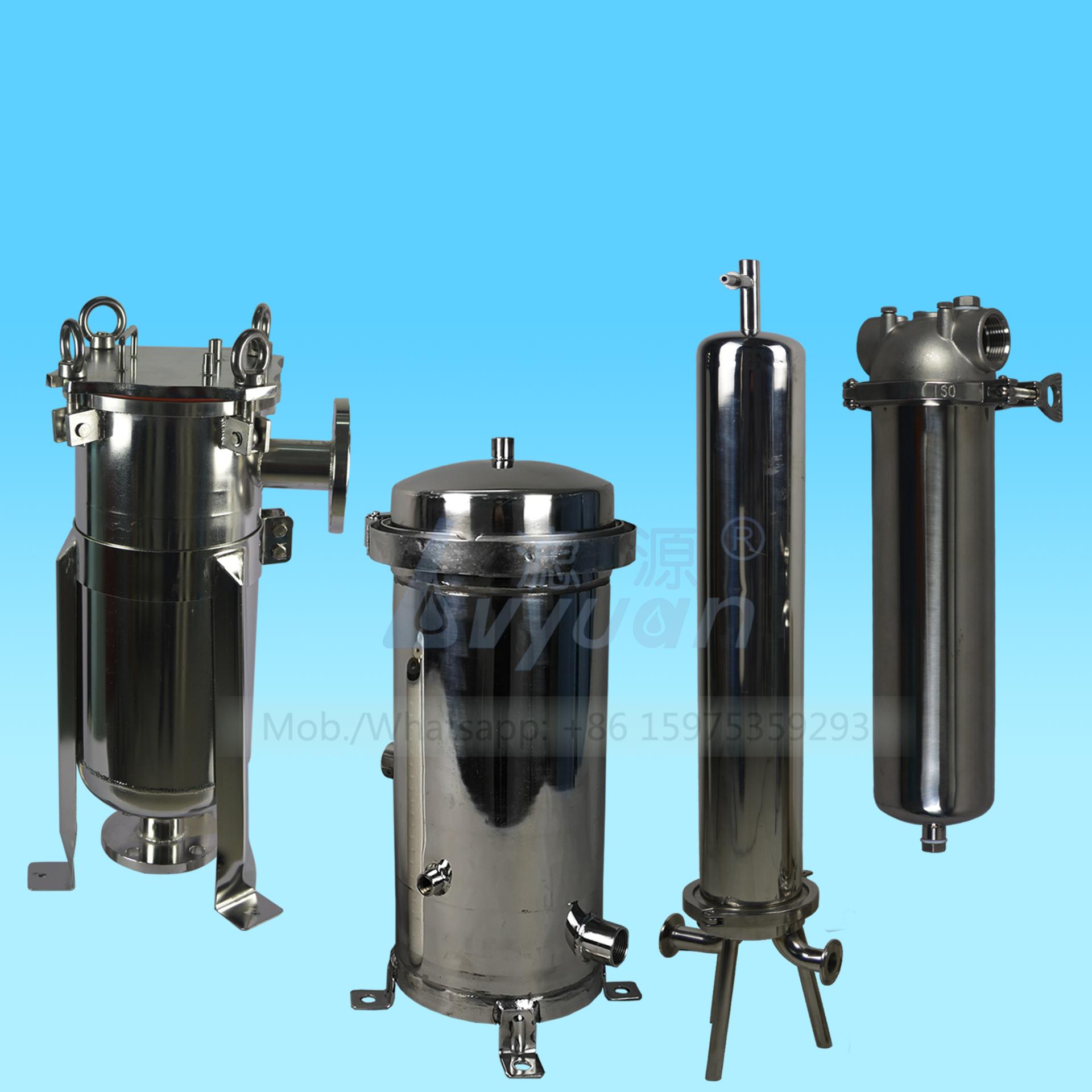 Water filter housing factory slim & jumbo cartridge bag filter type stainless steel pre filter housing supplier in China